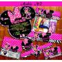 Kit Imprimible Minnie Mouse Mimi Cebra 3