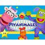 Kit Imprimible Piyanimales Diseñá Tarjetas Invitaciones #2