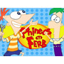 Kit Imprimible Phineas Y Ferb Diseña Tarjetas Cumpleanos #1