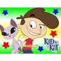 Kit Imprimible Kid Vs Kat Diseña Tarjetas Cumpleanos #1