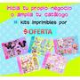 15 Kits Imprimibles Invitaciones Tarjetas Cumpleanos Disena