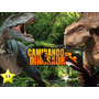 Kit Imprimible Dinosaurios Diseñá Tarjetas Invitaciones #2