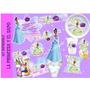 Kit Imprimible La Princesa Y El Sapo Tiana Tarjetas Invitaci