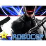 Kit Imprimible Robocop Diseñá Tarjetas Invitaciones Mas #2
