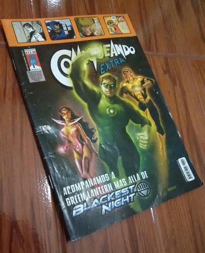 comics acompañamos a green lantern