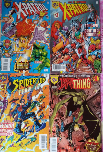 comics amalgam dc/ marvel  set 8 ejemplares