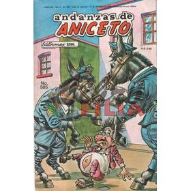 Comics Andanzas De Aniceto (1987-1988), Editormex