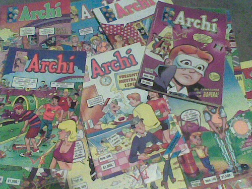 comics archis edit.vid 1992
