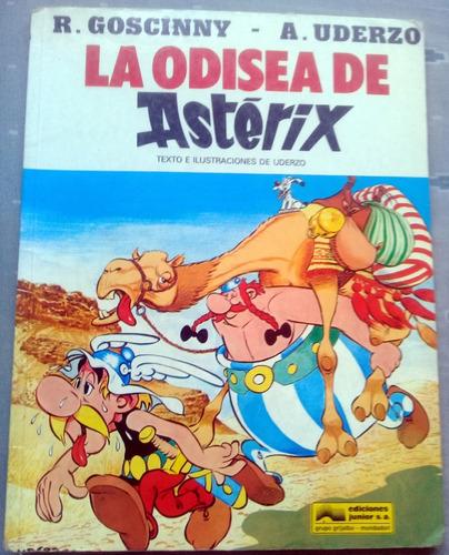 comics asterix, la odisea de astérix