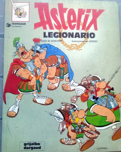 comics asterix, legionario