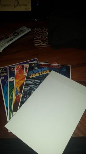 comics bags (bolsa para comics) ultra!! dc marvel x100unid