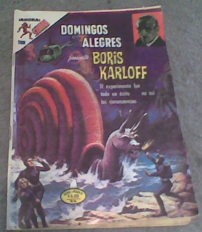 comics boris karloff
