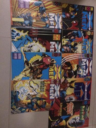 cómics clásicos de los xmen inglés y español