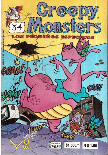 comics creepy monsters 1,27,28,31,34,35,36 y 37