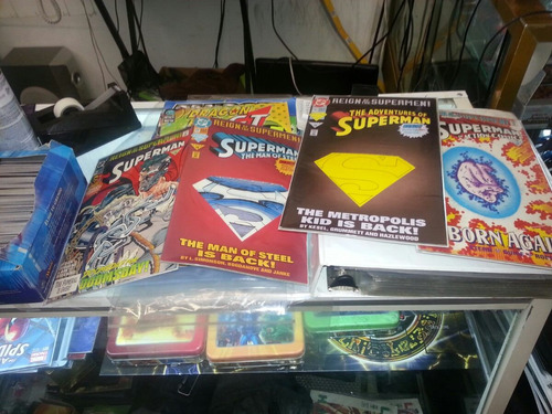 comics dc reino de los supermanes ingles