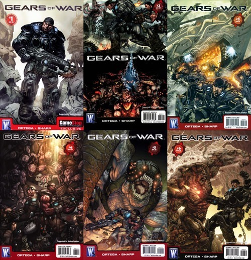 Gears Of War Comic Pdf