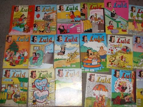 comics de la pequeña lulu super raros edit.vid 1980.
