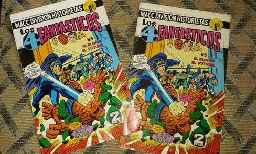 comics de macc, los 4 fantasticos