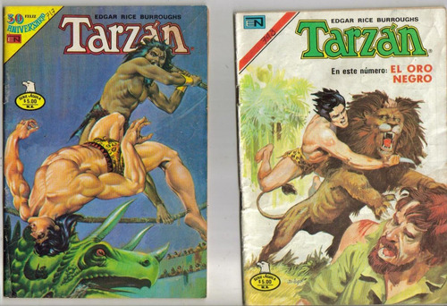comics de tarzan.t aguila.(novaro) (años 1975-1983) $60.00