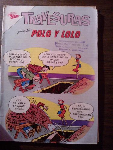 comics de travesuras, editorial novaro