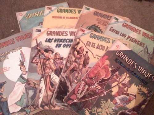 comics grandes viajes editorial novaro