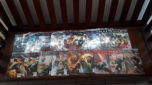 comics halo initiation y escalation varios numero