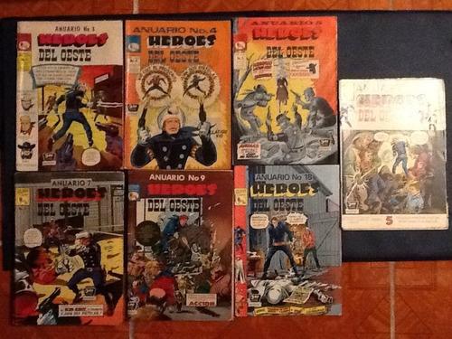 cómics heroes del oeste anuario num.4/5/7/9/18/22/ 27 prensa