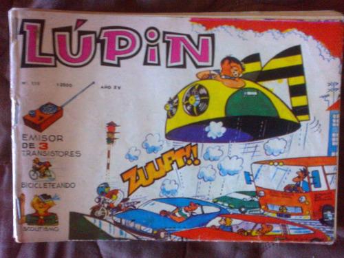 comics ,historieta,revista lupin n°176