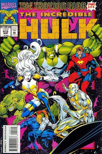 comics hulk guerras troyanas 4 tomos recopilatorios