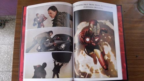 comics marvel colección salvat tapa dura spiderman iron man