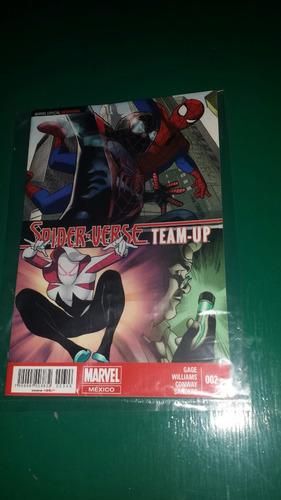 comics marvel especial semanal spider verse team- up