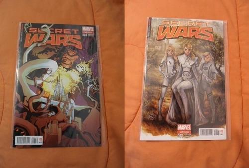 comics marvel now secret wars 1-9 15000 cada uno