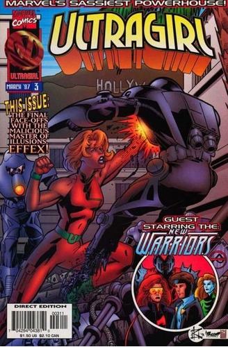 comics marvel    ultra girl (1-3) limited series