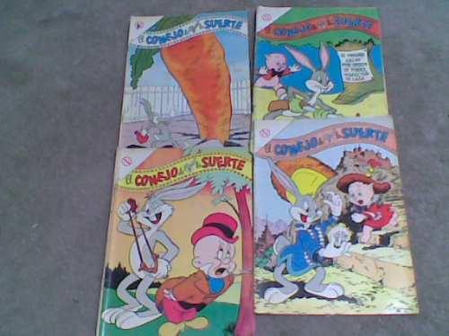 comics novaro  conejo de la suerte año 1964