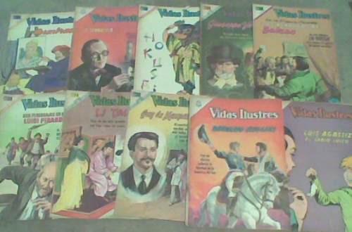 comics novaro vidas ilustres