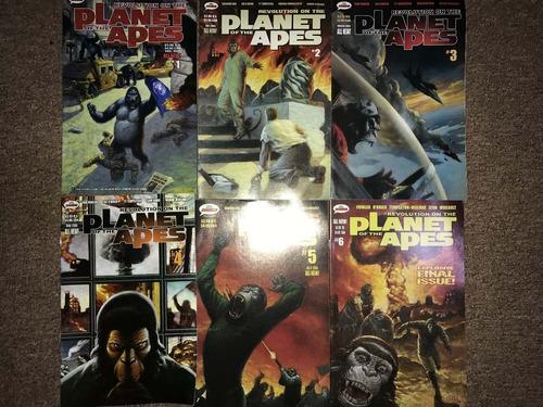 comics planeta de los simios en ingles 2005 mr.comics