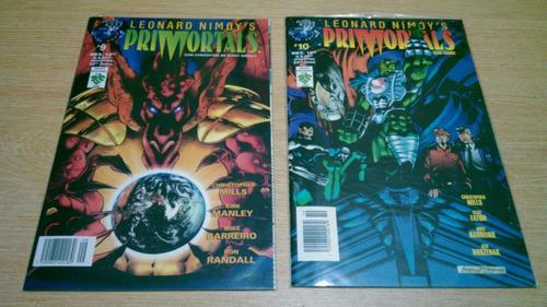 comics primortals editorial vid set 12 tomos 1996/97