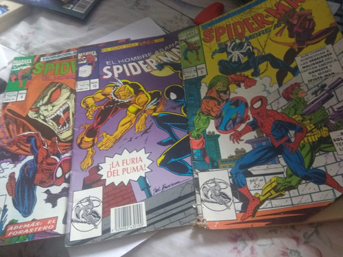 comics spiderman editorial vid el hombre araña 2,4 y 12