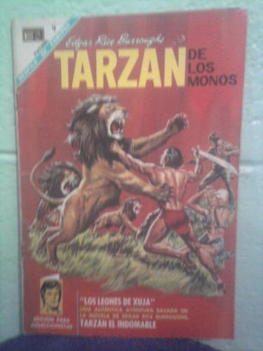 comics tarzan el hombre mono 60s grande ed novaro número 195