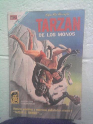 comics tarzan el hombre mono 60s grande ed novaro número 199