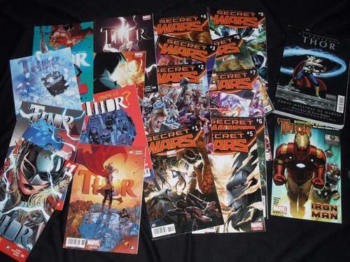 comics televisa  thor coleccion completa