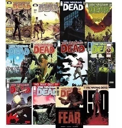 comics the walking dead (170) + especiales + libros(pdf,cbr)