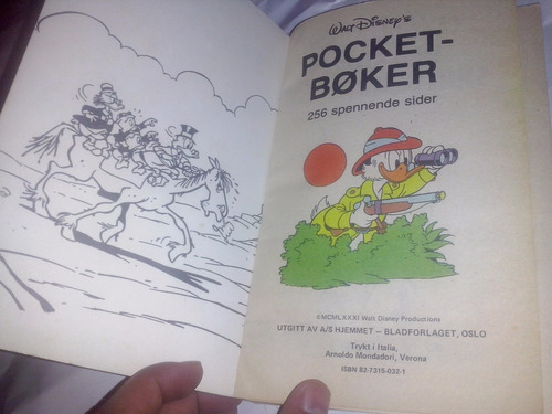 comics tio rico(onkel skrue),256pag, 18,5x12,5, no español