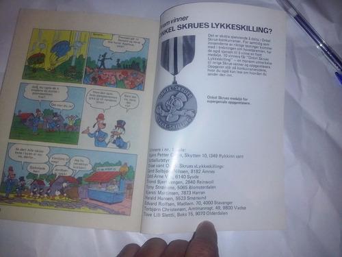 comics tio rico(onkel skrue),96pag, 18,5x13,5, no español