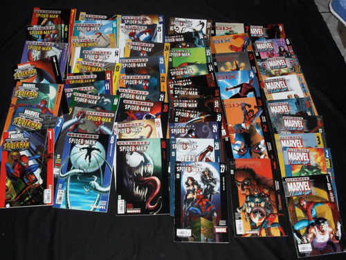 comics  vid/televisa  ultimate spider-man  compreta