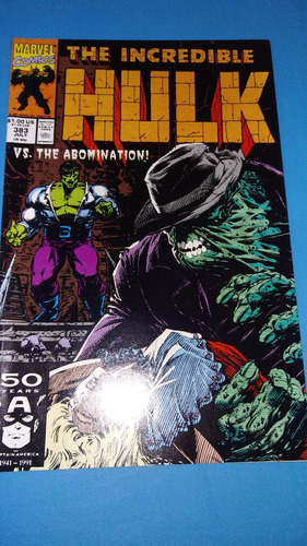comics vintage 1991  marvel the incredible hulk