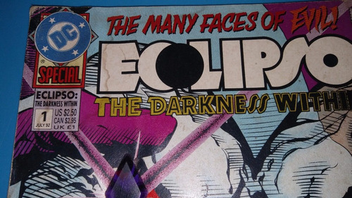 comics vintage 1992 dc eclipso the darkness within