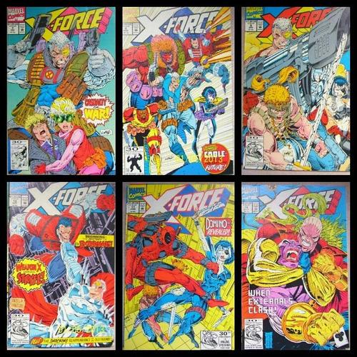 comics x-force set 1 12 ejemplares