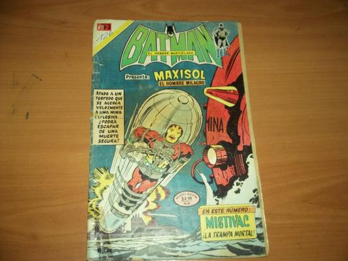 comicsretro batman n.754 novaro 1972  maxisol    oferta