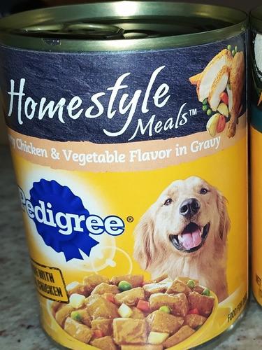 comida húmeda en lata pedigree